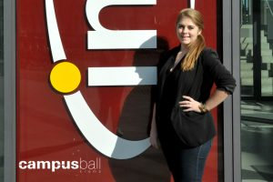 Teresa Thornely zum Campus-Ball Krems